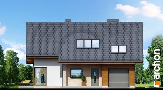 Elewacja frontowa projekt dom w wisteriach ver 2  264