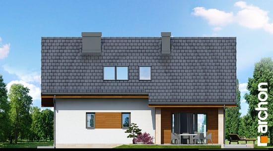 Elewacja ogrodowa projekt dom w wisteriach ver 2  267