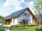 projekt Dom w wisteriach dodatkowa wizualizacja