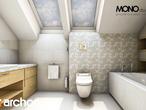projekt Dom w wisteriach Wizualizacja łazienki (wizualizacja 1 widok 3)