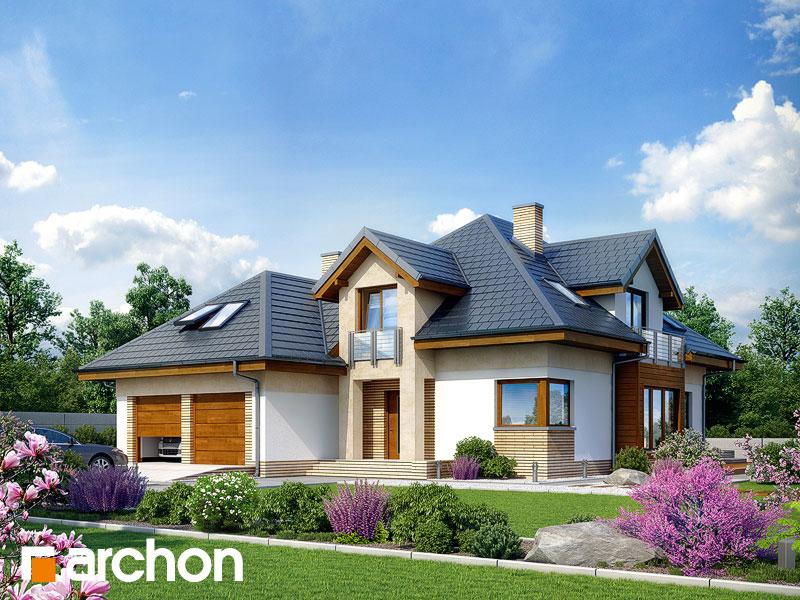Projekt: Dom w bergamotkach (G2N) ver.2 Wizualizacja widok 1