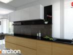 projekt Dom w bergamotkach (G2N) Aranżacja kuchni 1 widok 2