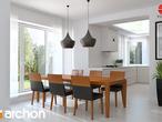 projekt Dom w bergamotkach (G2N) Aranżacja kuchni 2 widok 1