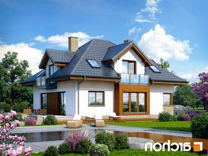 projekt Dom w bergamotkach (G2N) lustrzane odbicie 2