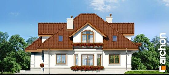Elewacja boczna projekt dom w bergamotkach g2p ver 2  265