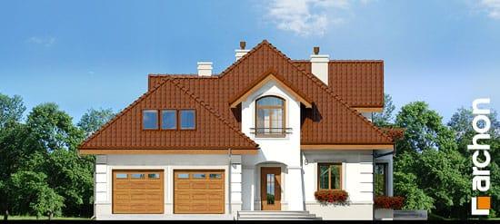 Elewacja frontowa projekt dom w bergamotkach g2p ver 2  264