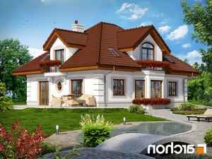 projekt Dom w bergamotkach (G2P) lustrzane odbicie 2