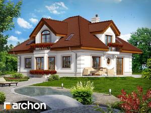 projekt Dom w bergamotkach (G2P) widok 2