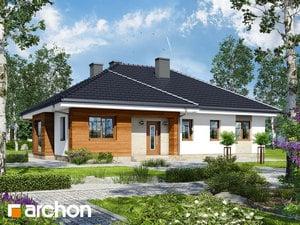 projekt Dom w bodziszkach