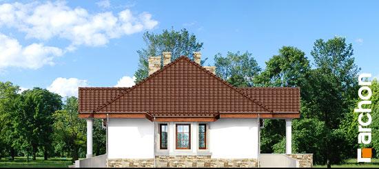 Elewacja boczna projekt dom w gaurach ver 2  266