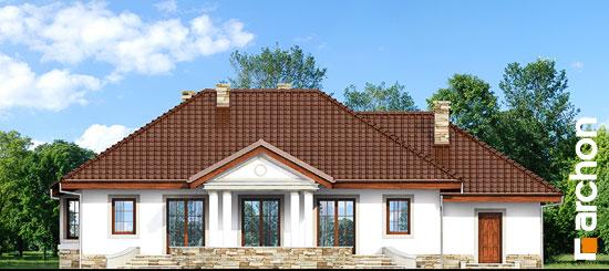 Elewacja ogrodowa projekt dom w gaurach ver 2  267