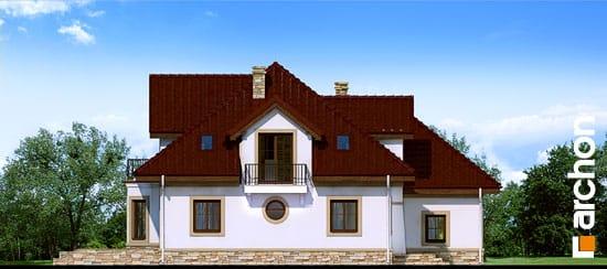 Elewacja boczna projekt dom w jastrunach ver 2  266