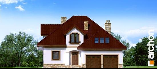 Elewacja frontowa projekt dom w jastrunach ver 2  264