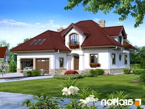 projekt Dom w jastrunach lustrzane odbicie 1
