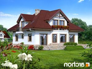 projekt Dom w jastrunach lustrzane odbicie 2