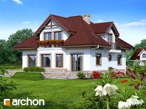 projekt Dom w jastrunach widok 2