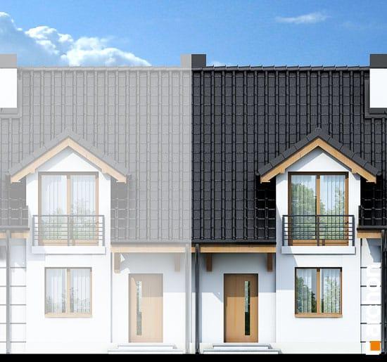 Elewacja frontowa projekt dom pod milorzebem ver 2  264