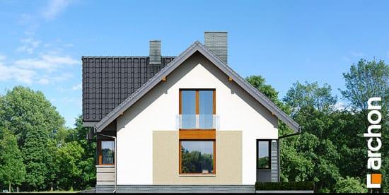 Elewacja boczna projekt dom w skrzydlokwiatach ver 2  265