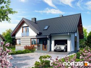 Projekt dom w skrzydlokwiatach ver 2  252lo