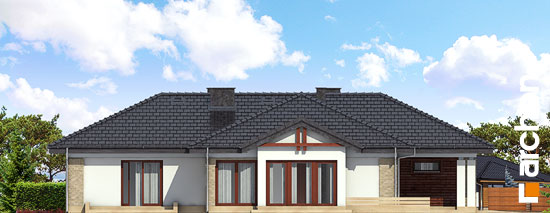 Elewacja boczna projekt dom w bergeniach ver 2  266