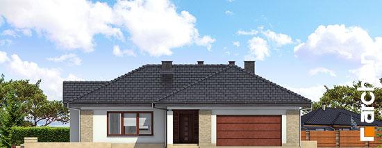 Elewacja frontowa projekt dom w bergeniach ver 2  264