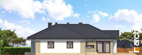 Elewacja ogrodowa projekt dom w bergeniach ver 2  267