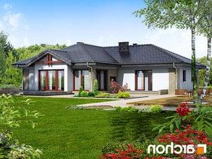 projekt Dom w bergeniach lustrzane odbicie 2