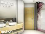 projekt Dom w rododendronach 5 (W) Wizualizacja łazienki (wizualizacja 1 widok 1)