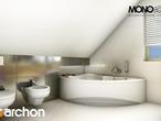 projekt Dom w rododendronach 5 (W) Wizualizacja łazienki (wizualizacja 1 widok 3)