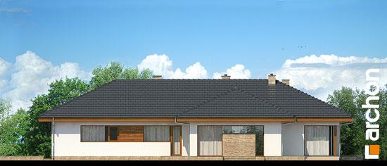 Elewacja boczna projekt dom w amarantusach ver 2  266