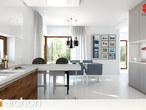 projekt Dom w amarantusach Aranżacja kuchni 1 widok 3