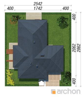 projekt Dom w amarantusach sytuacja