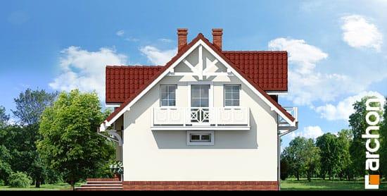 Elewacja boczna projekt dom w lukrecji ver 2  265
