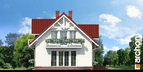 Elewacja boczna projekt dom w lukrecji ver 2  266