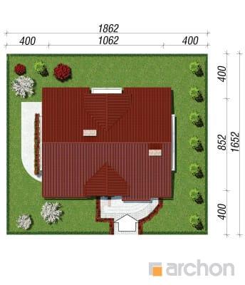 projekt Dom w lukrecji sytuacja