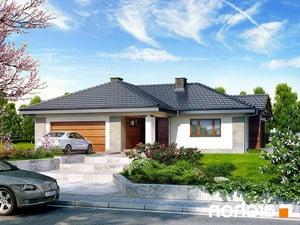 Projekt dom w bergeniach 2 ver 2  252lo
