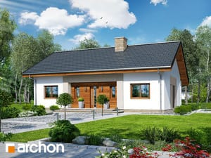 projekt Dom w kostrzewach