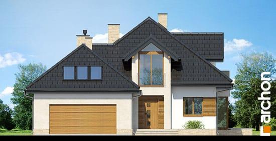 Elewacja frontowa projekt dom pod wiazowcem n ver 2  264