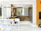 projekt Dom pod wiązowcem (N) Aranżacja kuchni 2 widok 1