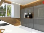projekt Dom pod wiązowcem (N) Aranżacja kuchni 2 widok 2