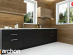 projekt Dom pod wiązowcem (N) Aranżacja kuchni 2 widok 3