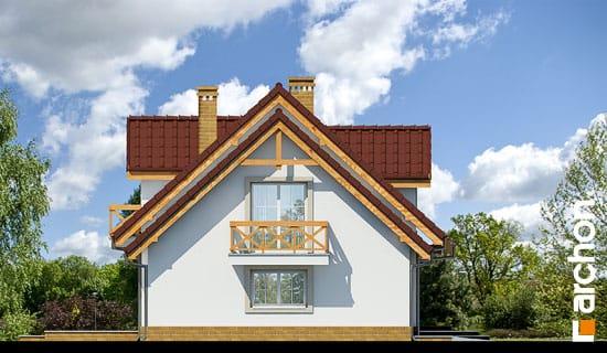Elewacja boczna projekt dom w poziomkach 4 ver 2  266