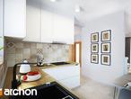 projekt Dom w poziomkach 4 Wizualizacja kuchni 1 widok 1