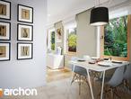 projekt Dom w poziomkach 4 Wizualizacja kuchni 1 widok 2