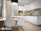 projekt Dom w poziomkach 4 Wizualizacja kuchni 1 widok 3