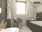 projekt Dom w poziomkach 4 Wizualizacja łazienki (wizualizacja 1 widok 2)