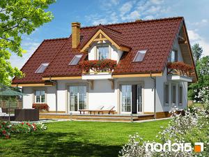projekt Dom w poziomkach 4 lustrzane odbicie 2