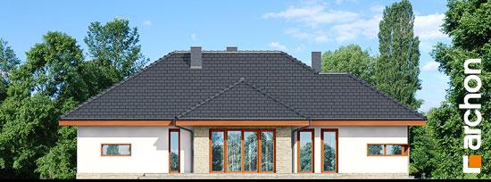 Elewacja boczna projekt dom w cyprysikach ver 2  266