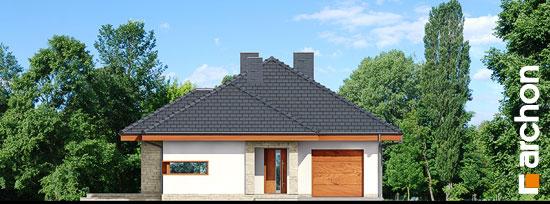Elewacja frontowa projekt dom w cyprysikach ver 2  264