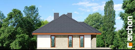 Elewacja ogrodowa projekt dom w cyprysikach ver 2  267
